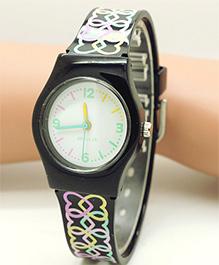 Lilpicks Couture Designer Watch - Black