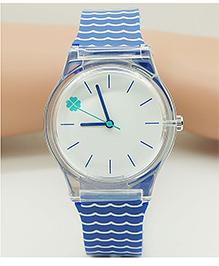Lilpicks Couture Waves Design Watch - Blue