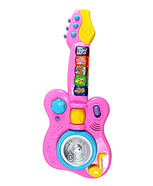 Planet Of Toys Magic Musical Interactive Guitar - Pink