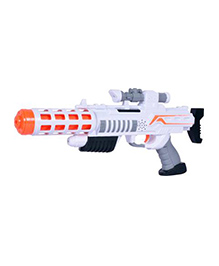 Planet Of Toys Space Weapon Big With LED & Sound Grey - 43 Cm