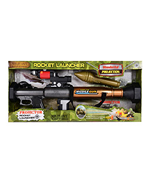 Planet Of Toys Projector Rocket Launcher Toy - Multicolor
