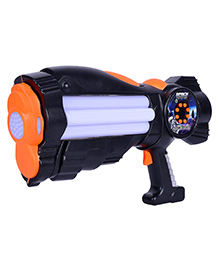 Planet Of Toys Space Weapon Musical Toy Gun - Black