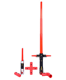 Planet Of Toys Lightsaber Flashing Sword With Various Extensions (Led Lights And Sound)