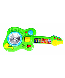 Planet Of Toys Guitar With Lights & Music Green - 13 Inches