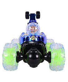 Planet Of Toys Remote Controlled Stunt Car - Blue
