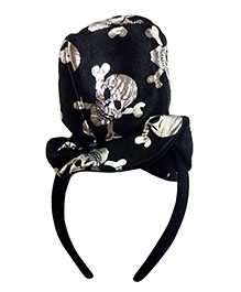 Funcart Pirate Skull Hair Band - Black