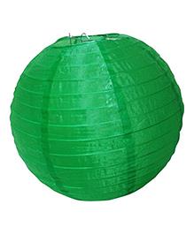Funcart Silk Paper Lantern - Green