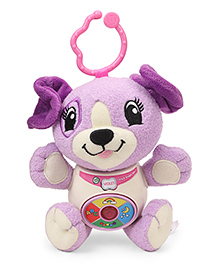 Leap Frog Musical Puppy Soft Toy - Violet
