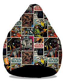 Orka Star Wars Digital Printed Bean Bag Filled With Beans Multicolour - XL - 1807760