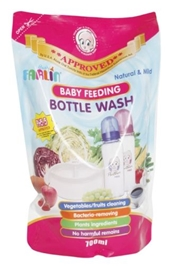 Farlin Baby Feeding Bottle Wash Refill Pack - 700 Ml - Natural And Mild