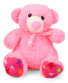 Liviya Teddy Bear Soft Toy Pink - Height 33 Cm