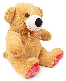 Liviya Sitting Teddy Bear Soft Toy Cream - Height 33 Cm