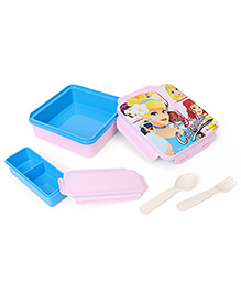 Disney Princess Cinderella Lunch Box - Pink Blue