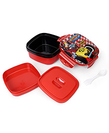 Disney Mickey Mouse Lunch Box - Red And Black