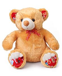 Liviya Sitting Teddy Bear Soft Toy Light Brown - Height  54 Cm