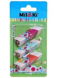 Misaki  - Tringular Prism Shape Erasers
