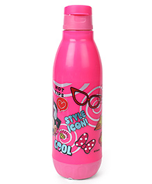 Disney Minnie Mouse Flip Top Sipper Bottle Pink - 500 Ml
