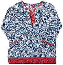 Biba - Full Sleeves Printed Kurta