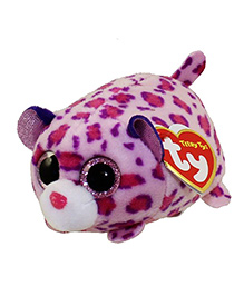 Jungly World Olivia Leopard Pink Purple - Height 10 Cm
