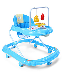 Baby Musical Walker With Play Tray - Blue