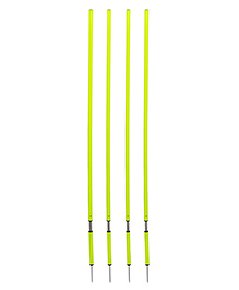 GSI Spring Loaded Slalom Poles Pack Of 4 - Green
