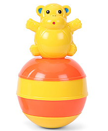 Ratnas Baby Touch Roly Poly Animal Shape - Yellow Orange