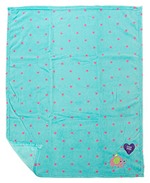 Mee Mee Multi Purpose Blanket With Star Print - Blue Pink