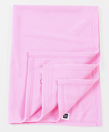 Mee Mee Multi Purpose Blanket With Bunny Patch - Pink