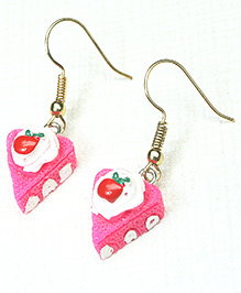 Asthetika Pastry Earrings - Pink