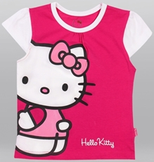 Hello Kitty -Short Sleeves Top