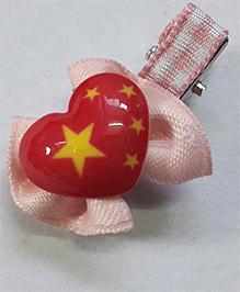 Sugarcart Heart Clip - Pink