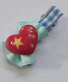 Sugarcart Heart Clip - Blue