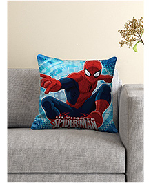 Marvel Spider Man Cushion Cover - Blue & Red