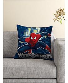 Marvel Spider Man Cushion Cover - Dark Blue & Red