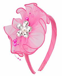 Daizy Flower Design Hair Band - Pink
