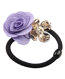 BownBee Rose Rubber Band - Purple