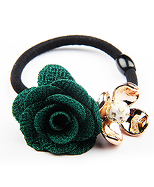 BownBee Rose Rubber Band - Green