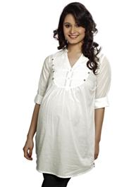 Nine - Maternity Military Style Shirt