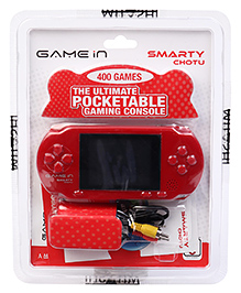 Mitashi Hand Held Gaming Console - Red