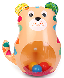 Little Hero Roly Poly Tiger - Multi Colour