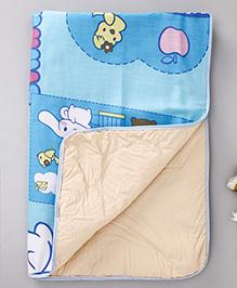 Diaper Changing Baby Mat - Light Blue