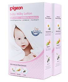 Pigeon Baby Milky Lotion - 200 Ml Each