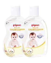 Pigeon Baby Oil Pack Of 2 - 200 Ml Each