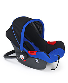 Baby Car Seat Cum Carry Cot - Blue & Black