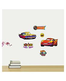 Orka Digital Printed Disney Pixar Car Design Wall Sticker - Multi Colour