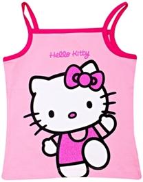 Hello Kitty - Singlet Top With Kitty Print