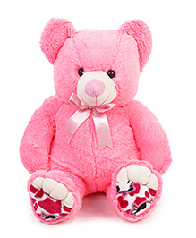 Liviya Sitting Teddy Bear Soft Toy Pink - Height 82 Cm
