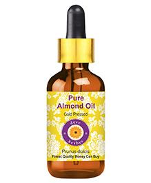 Deve Herbs Cold Pressed Almond Oil - 50 Ml