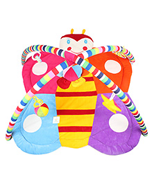Ole Baby Plushy Butterfly Twist And Fold Play Mat - Multi Colour