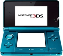 Nintendo - 3DS Hand Held 3D Game Blue